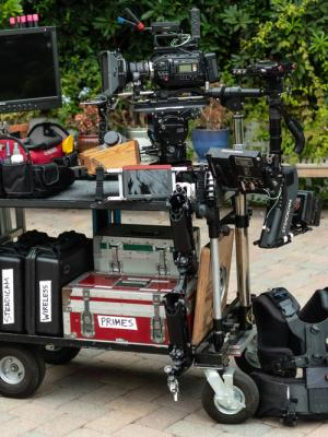 2021 Cinematographer-Steadicam Cart · By: Raphael Jochem Van Oostrum