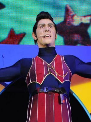 2012 Scott Joseph: Playing Robbie Rotten in CBeebies Arena Tour · By: James Robson