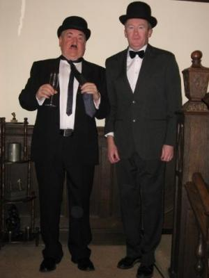 2012 Oliver Hardy · By: P Wright