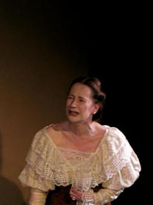As Lady Chiltern in 'An Ideal Husband'