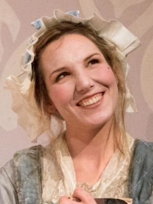 Elizabeth Bower as Susannah in iShandy at York Theatre Royal