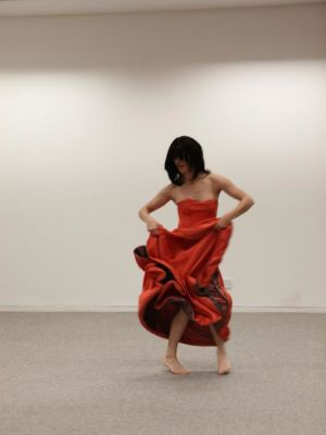 Dress made for Oriana Fox's Once More with Feeling · By: Manuel Vason
