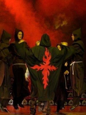 Male devil cloak