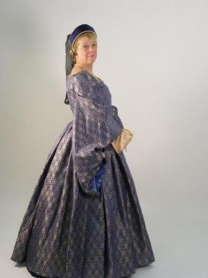 tudor dress (authentic pattern) · By: lucy callender