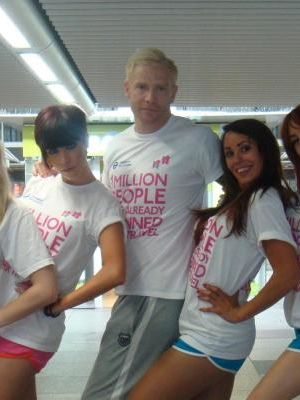 Summer 2012 Iwan Thomas Olympic Warm Up · By: Evening Standard Paper