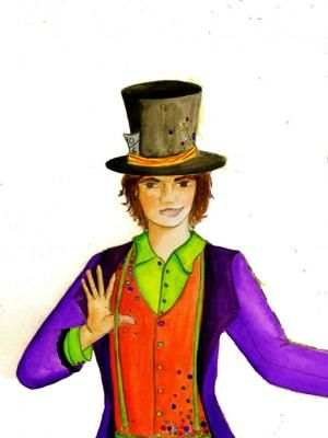 The Mad Hatter, 'Mad Hatters Childrens Charity Tea Party Portsmouth' Cystic Fybrosis Kids Portsmouth 2013