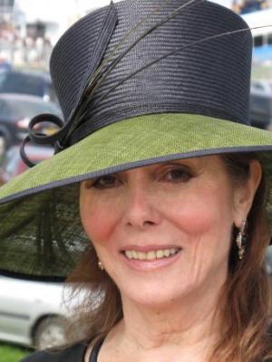 Julie Bevan at Derby Day