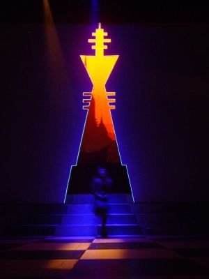 CHESS, ABERYSTWYTH ARTS CENTRE 2011 · By: ALI ALLEN