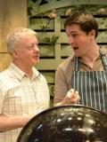 2014 As Teddy in 'Farcicals' in the Ayckbourn Ensemble tour, 2014, with the Stephen Joseph Theatre. (Left: Kim Wall as Reggie) Photo taken at Everyman Theatre, Cheltenham · By: Andrew Higgins