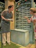 2014 As Teddy in 'Farcicals' in the Ayckbourn Ensemble tour, 2014, with the Stephen Joseph Theatre. (Right: Elizabeth Boag as Penny) Photo taken at Everyman Theatre, Cheltenham · By: Andrew Higgins