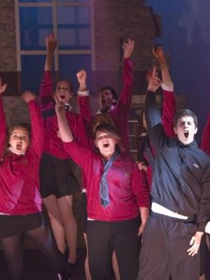 our house musical school scene baggy trousers · By: nick shepherd