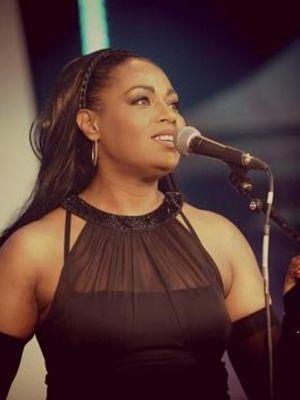 2014 Artist: Charmain - Singing at Canary Wharf Jazz Festival 2014 · By: Charmain Elliott