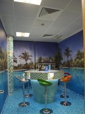 Swimming Pool Conference room for ITV