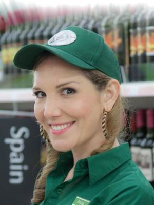 Elizabeth Bower as Anna in Sky 1 comedy Trollied