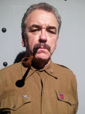 As Stalin in 'Collaborators'