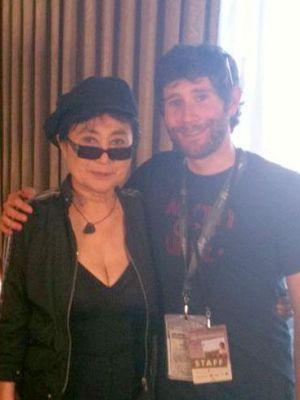 2012 Yoko Ono · By: Lauren Smith