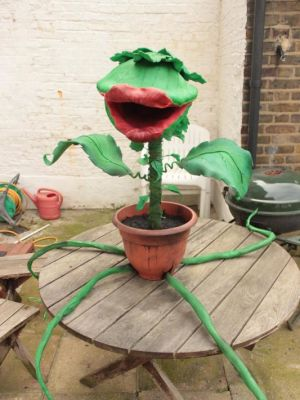 Promotional Audrey II for Little Shop of Horrors at Colchester Mercury Theatre · By: Tracey Booth