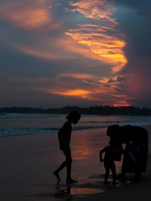2012 Weligama Sunset · By: Drew Lawrence