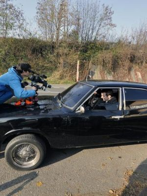 filming a music video