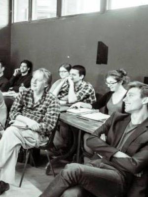 """""""Merchant of Venice"""" rehearsal room"""