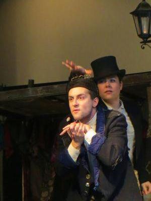 Oliver Twist , actors: Matt Colyer, Bethan Lee, India Rushton-Dray