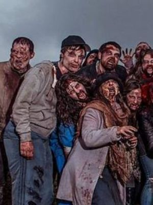 2014 I Survived A Zombie Apocalypse · By: Simon Dinsell