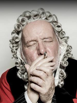 2014 David as Judge Smoking · By: Mark Brummel Photography