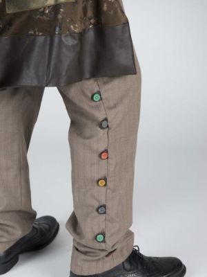 Sparafucile from Rigoletto, trouser detail · By: Margaret Maguire