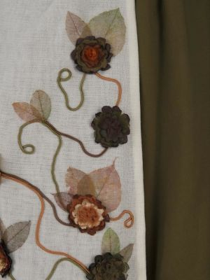 Villager from Giselle, apron detail · By: Margaret Maguire