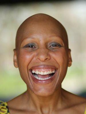2015 Bald Happy · By: Jennie Scott