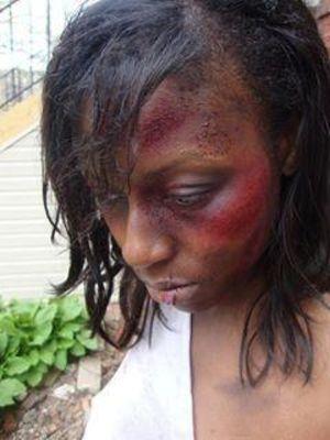 SFX beaten up look