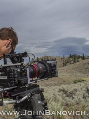 Director/Producer with my F55 & 600mm wildlife shoot