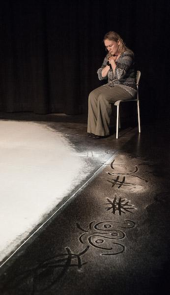 As Mum in tour of 'Cracked' - Sante Theatre 2015