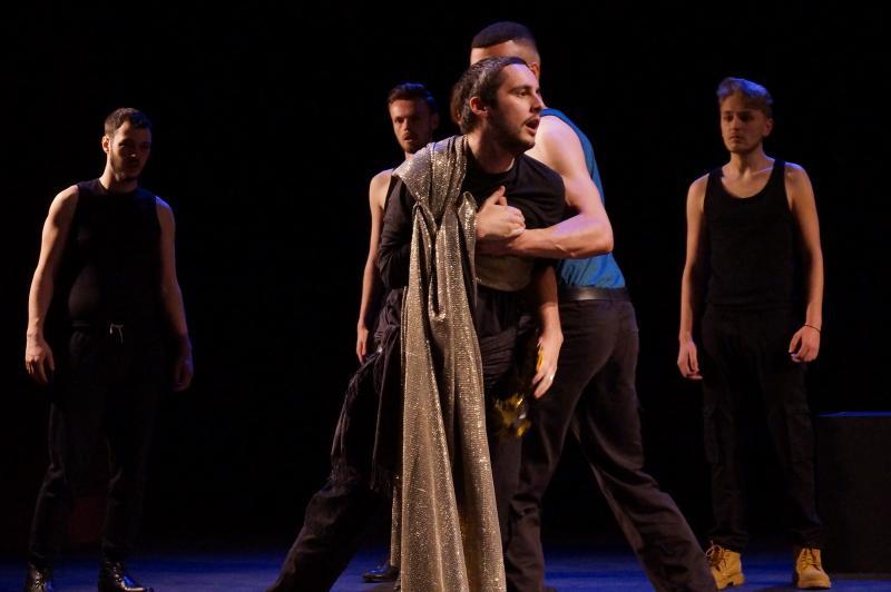 Julius Dies - Julius Caesar - Stripped Back Shakespeare - LIPA - My Lighting Design