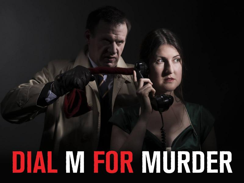 Dial M For Murder poster shot