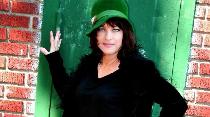 Debra Rider Green Hat