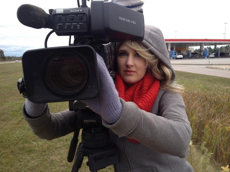 ENG shooting with Global News Toronto
