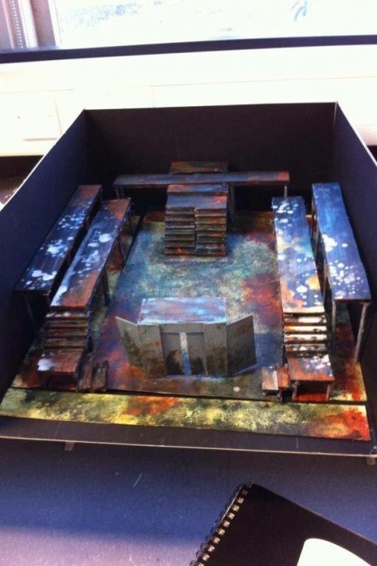 Titus Andronicus Model Box