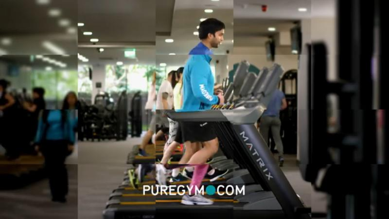 Pure Gym Commercial Still