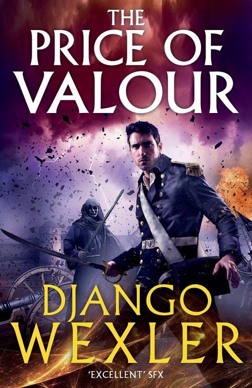 Django Wexler 'The Price of Valour' Book Cover