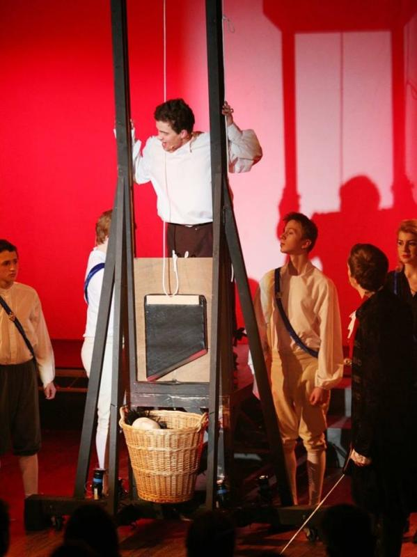 The Scarlet Pimpernel, Lights Music Action, West Suffolk Performing Arts Centre- April 2016