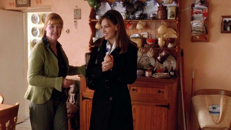 Anne Kent with Hilary Swank in PS I Love You