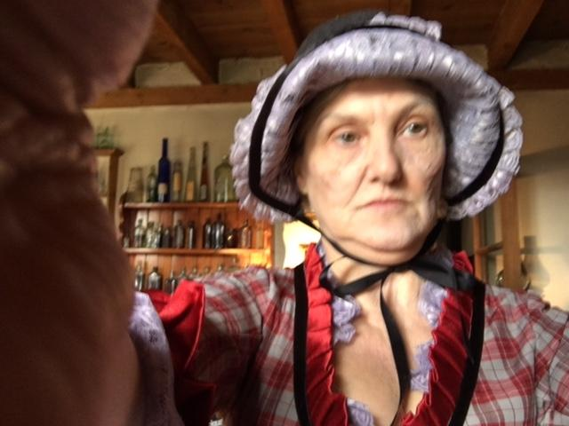 Old Lady stills from Sony TV Euro Western