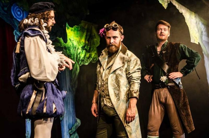 Midsummer Nights Dream, Leicester Square Theatre 2016
