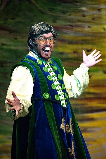 "King Fandango Bumble in ""Jack & The Beanstalk"""