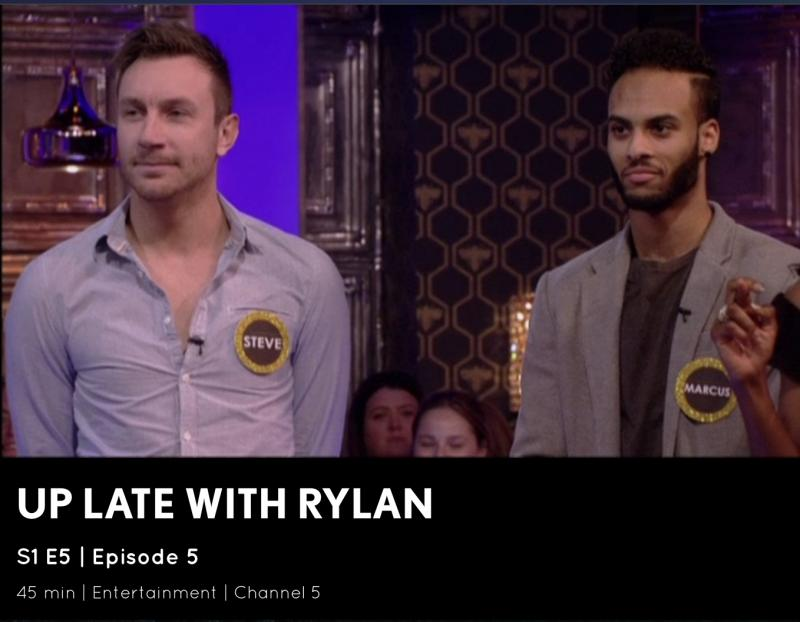 Up Late with Rylan Screen Shot