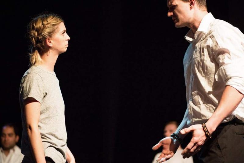 Performing at the Omnibus Theatre
