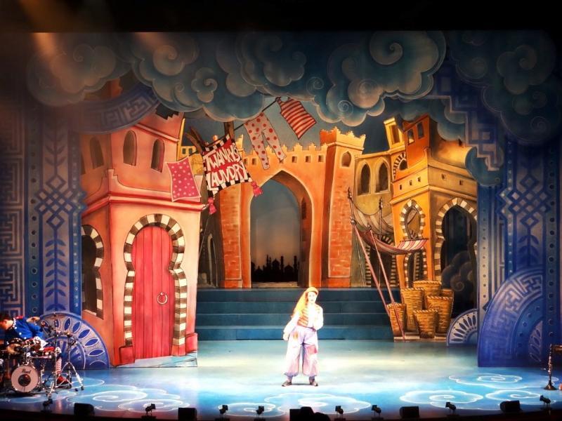 Aladdin, Cast Doncaster