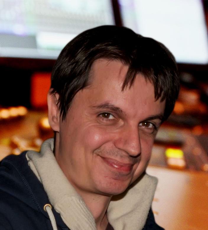 Zahari Schtonov In The Studio