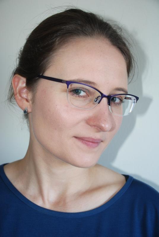 In glasses